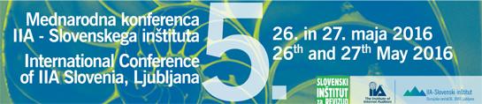 5. mednarodna konferenca IIA Slovenskega inštituta