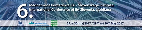 6. mednarodna konferenca IIA Slovenskega inštituta
