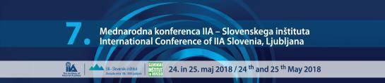 Konferenca IIA - Slovenskega inštituta